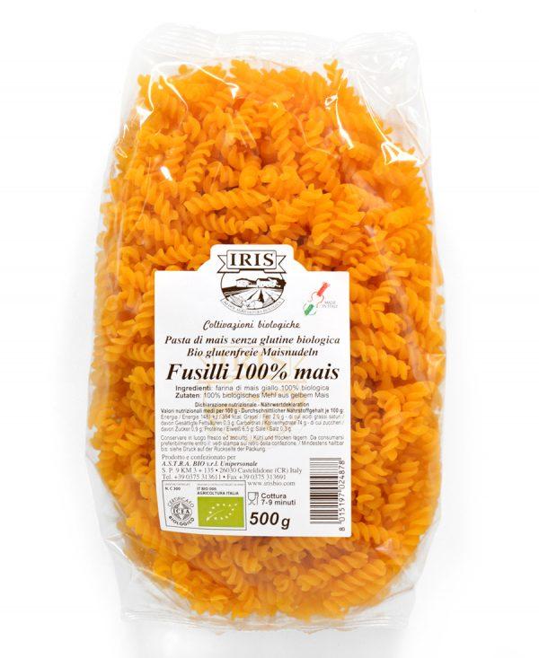 Fusilli di mais - 500 grammi senza glutine