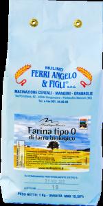 Farina di farro tipo 0 dell'Appennino Bolognese - 25 kg