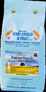 Farina di grano tenero tipo 0 dell'Appennino Bolognese - 25 kg