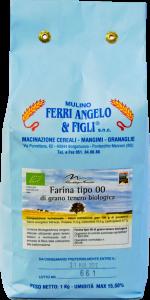 Farina di grano tenero tipo 00 dell'Appennino Bolognese - 25 kg
