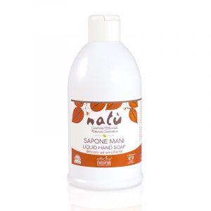 Sapone liquido Mani Natù - Flacone da 1 litro
