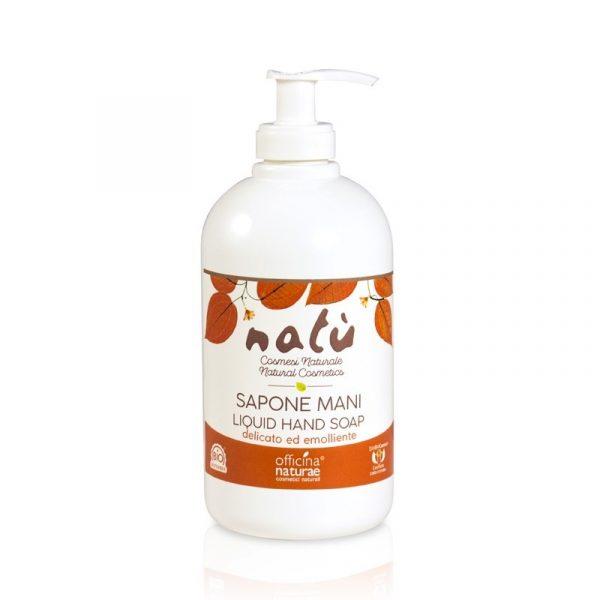 Sapone liquido Mani Natù - Flacone da 1/2 litro