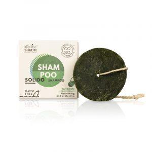Shampoo Solido nutriente e protettivo