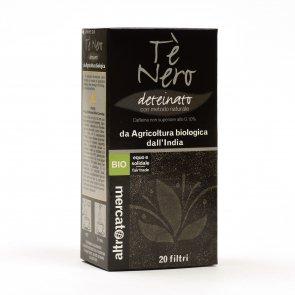 Tè nero deteinato - 20 filtri