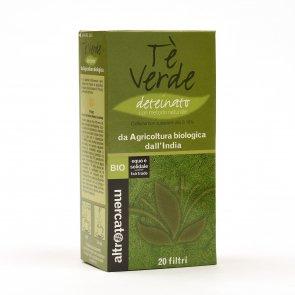 Tè verde deteinato - 20 filtri