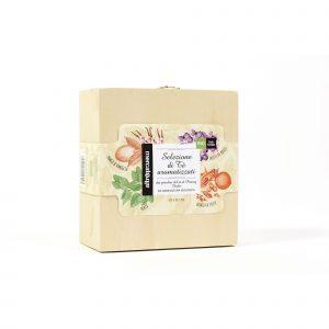 Selezione di tè aromatizzati in cofanetto - 40 bustine differenti