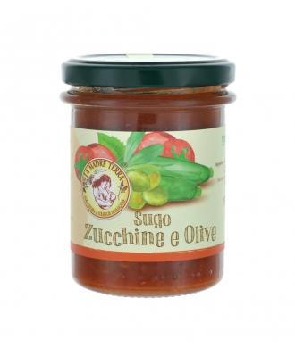 Sugo zucchine e olive